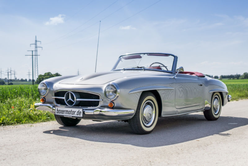1960 Mercedes Benz 190sl Is Listed For Sale On Classicdigest In