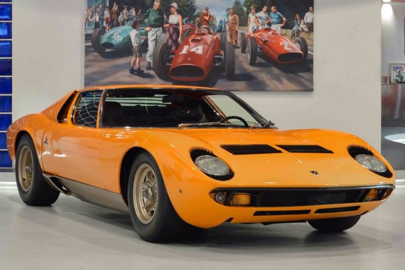 1969 Lamborghini Miura Is Listed Sold On Classicdigest In London By