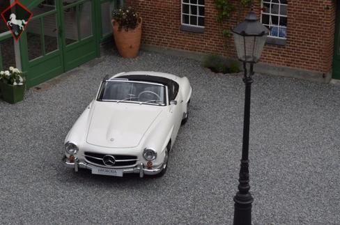 Mercedes-Benz 190SL 1958