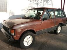 Land Rover Range Rover 1981