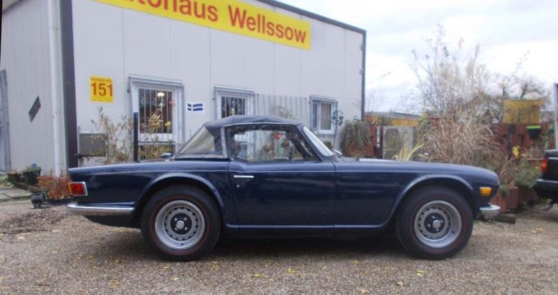 1972 Triumph Tr6 Is Listed Såld On Classicdigest In Waldstr 151de