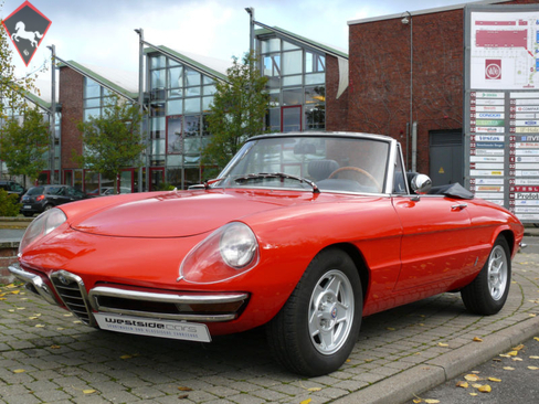 1969 alfa romeo spider is listed sold on classicdigest in. Black Bedroom Furniture Sets. Home Design Ideas