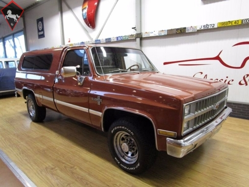 1982 Chevrolet C20 Is Listed For Sale On Classicdigest In