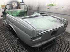 Mercedes-Benz 220SE Cabriolet w111 1967