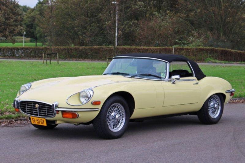 Jaguar E Type XKE 1974