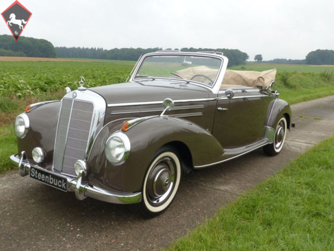 1952 Mercedes Benz 220 W187 Is Listed For Sale On