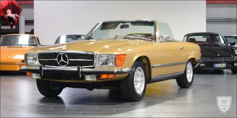 Mercedes-Benz 450SL w107 1973