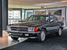 Mercedes-Benz 500SL w107 1987