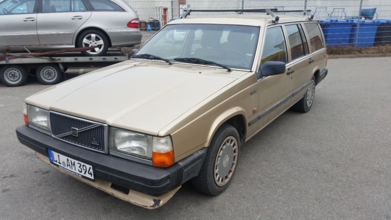 1989 Volvo 740 is listed Sold on ClicDigest in Donaustr. 15DE ...