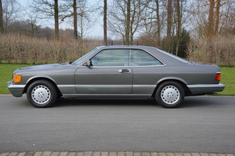 1987 mercedes benz 560 sec w126 is listed till salu on for Mercedes benz winter park