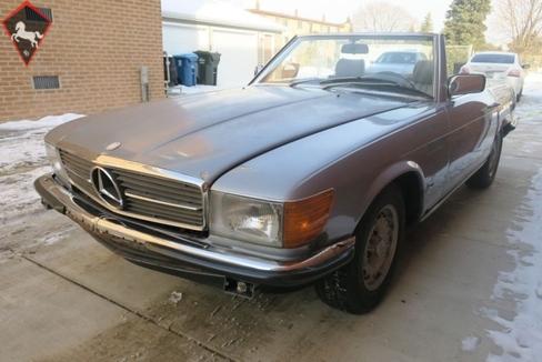 Mercedes-Benz 280SL w107 1983