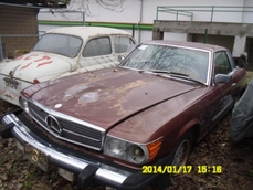 Mercedes-Benz 450SLC w107 1978