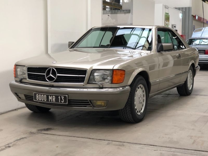 1987 Mercedes-Benz 560 SEC w126 is listed For sale on ...