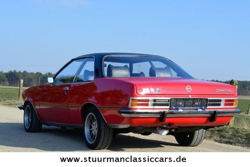 1973 opel commodore gs e coup is listed till salu on. Black Bedroom Furniture Sets. Home Design Ideas