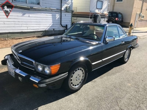 Mercedes-Benz 560SL w107 1986