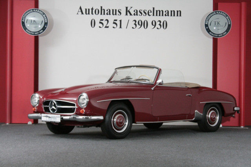 1962 Mercedes-Benz 190SL Is Listed For Sale On