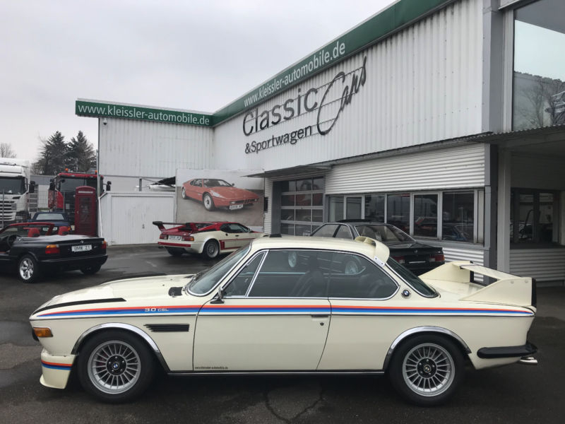Bmw 3.0 Csl >> 1974 Bmw 3 0csl E9 Is Listed For Sale On Classicdigest In