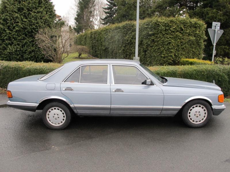 1984 mercedes benz 280 s se l w126 is listed for sale on. Black Bedroom Furniture Sets. Home Design Ideas