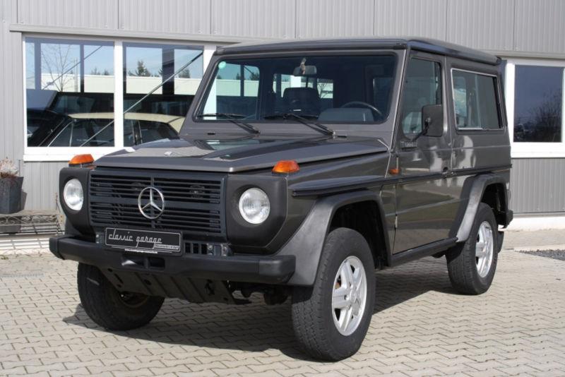 1987 mercedes-benz geländewagen is listed for sale on classicdigest