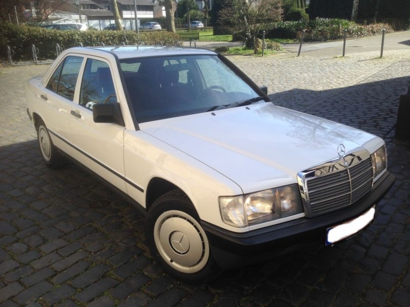 1988 Mercedes-Benz 190 W201 Is Listed For Sale On