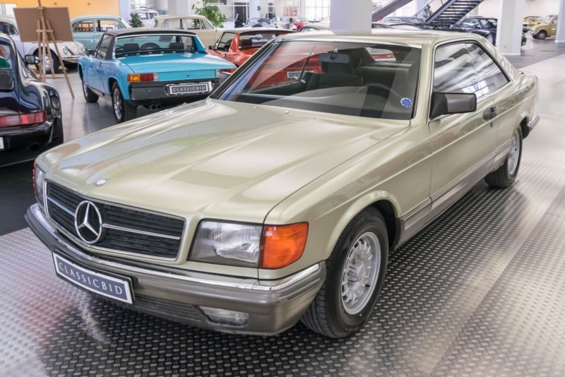 1984 Mercedes-Benz 500 SEC w126 is listed Sold on ClassicDigest in ...