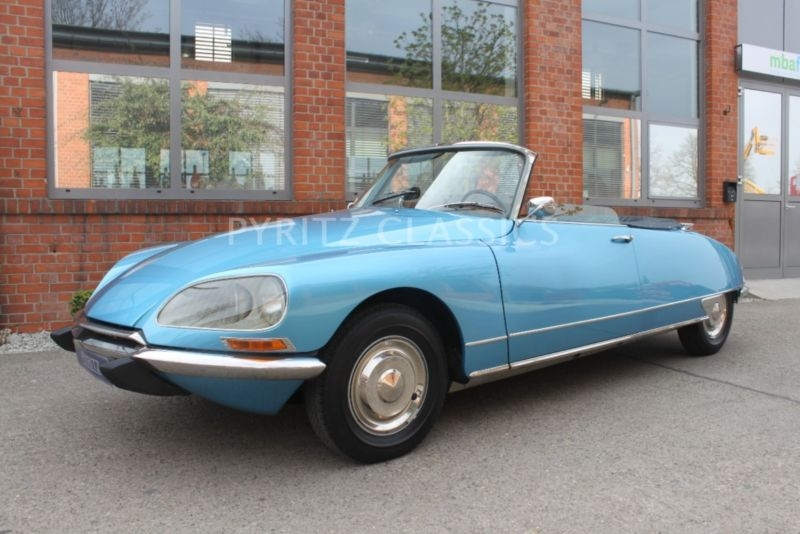 1968 Citroen DS Is Listed Sold On ClassicDigest In