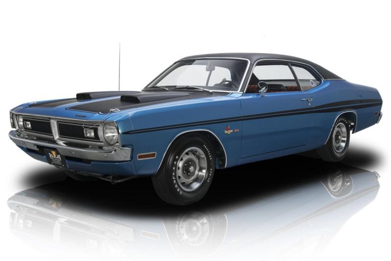 Dual Longitudinal Side Stripes for 1971 1972 Dodge Demon