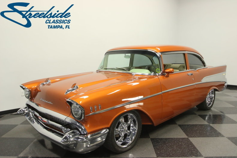 1957 Chevrolet 210 is listed For sale on ClassicDigest in Tampa, Florida by  Streetside Classics - Tampa for $108995