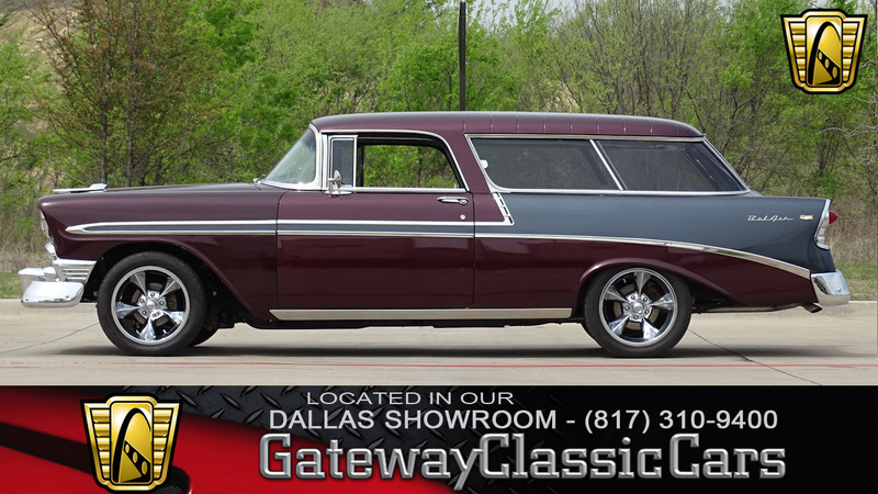 1956 Chevrolet Nomad Is Listed For Sale On Classicdigest In Dfw Airport By Gateway Classic Cars Dallas For 73500