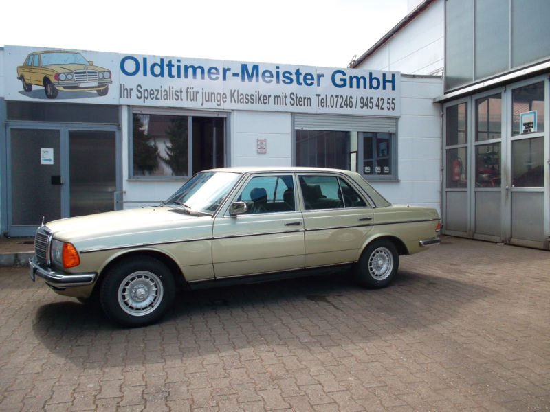 1982 Mercedes Benz 280 W123 Is Listed For Sale On Classicdigest In