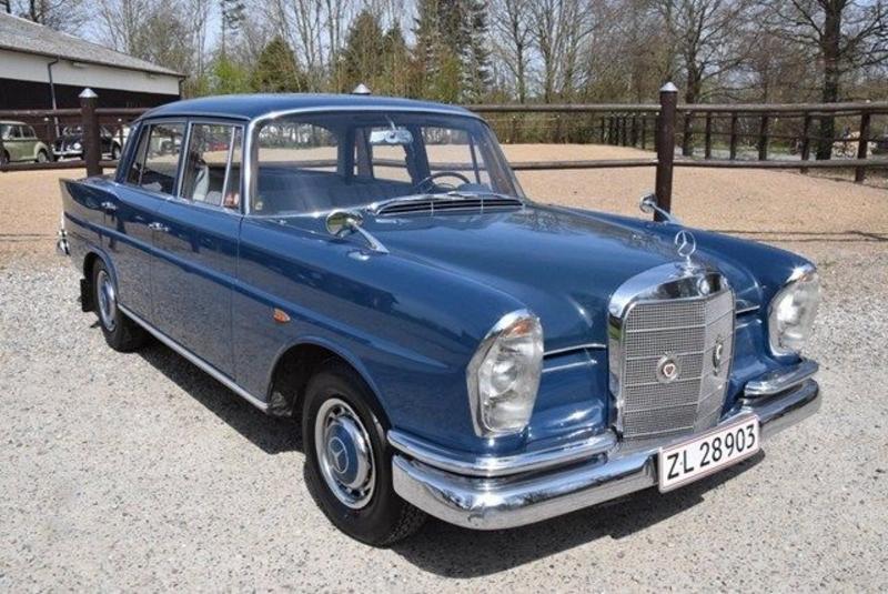 MERCEDES-BENZ 280 SE 3.5 W111 CONVERTIBLE 1971 | GALLERY ... |Mercedes Benz W111