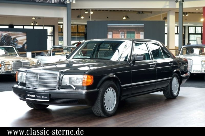 1990 mercedes benz 560 sel w126 is listed for sale on classicdigest