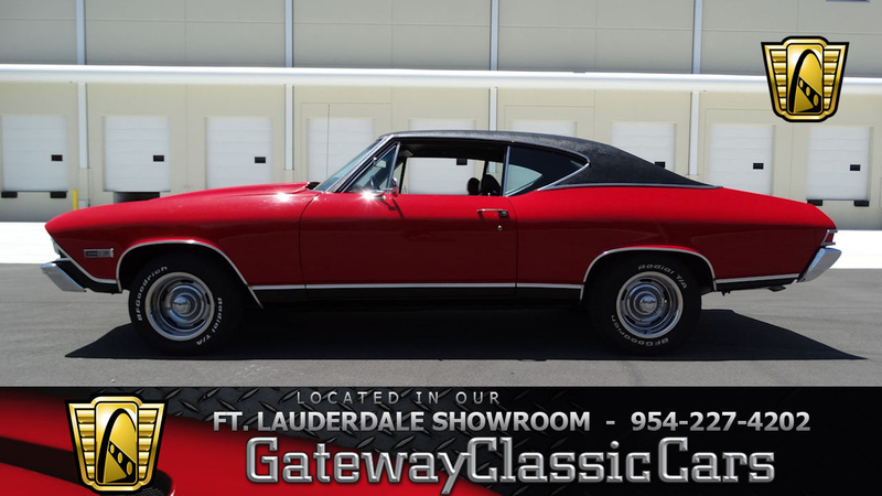 1968 Chevrolet Chevelle Is Listed For Sale On Classicdigest In Coral Springs By Gateway Classic Cars Ft Lauderdale For 46000