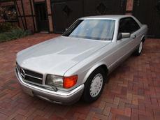 Mercedes-Benz 560 SEC w126 1989