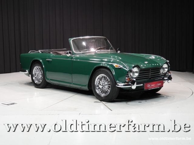 1965 Triumph Tr4 Is Listed Sold On Classicdigest In Aalter By