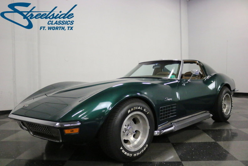 1971 Chevrolet Corvette is listed Till salu on ClassicDigest in Dallas /  Fort Worth, Texas by Streetside Classics - Dallas/Fort Worth for $27995