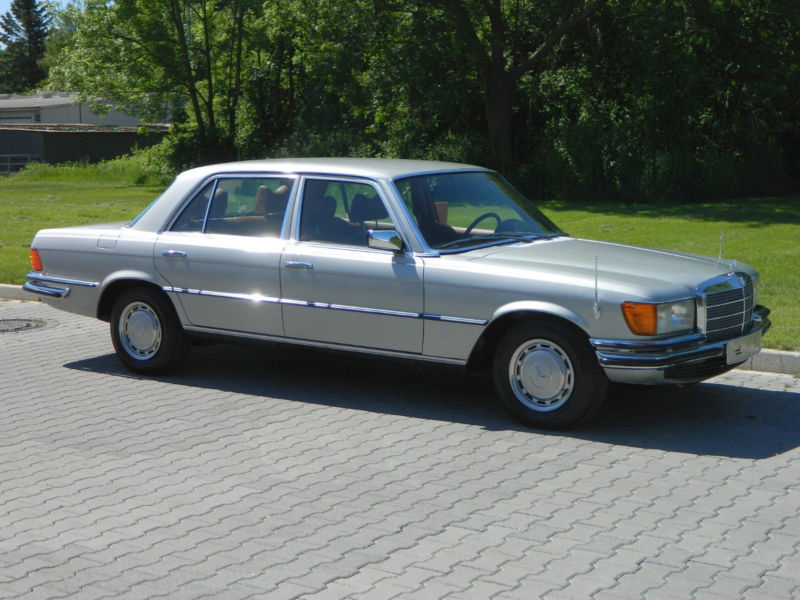 1979 Mercedes-Benz 280S/SE W116 Is Listed For Sale On