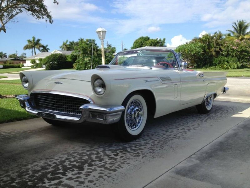 1957 Ford Thunderbird Is Listed For Sale On Classicdigest In Kammerratsheide 30ade 33609 Bielefeld By House Of Classic Cars Gmbh For 33900