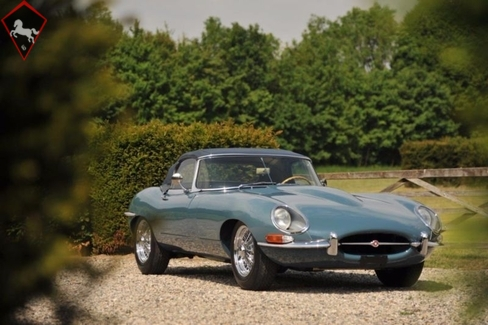 Jaguar E-type XKE 1962