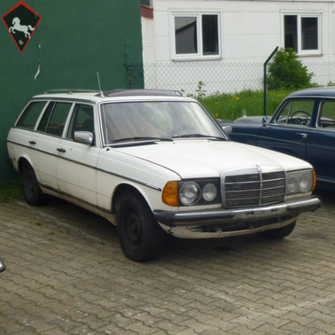Mercedes-Benz 300D w123 1978