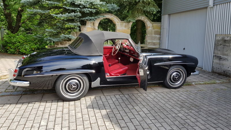 1956 Mercedes Benz 190sl Is Listed For Sale On Classicdigest In