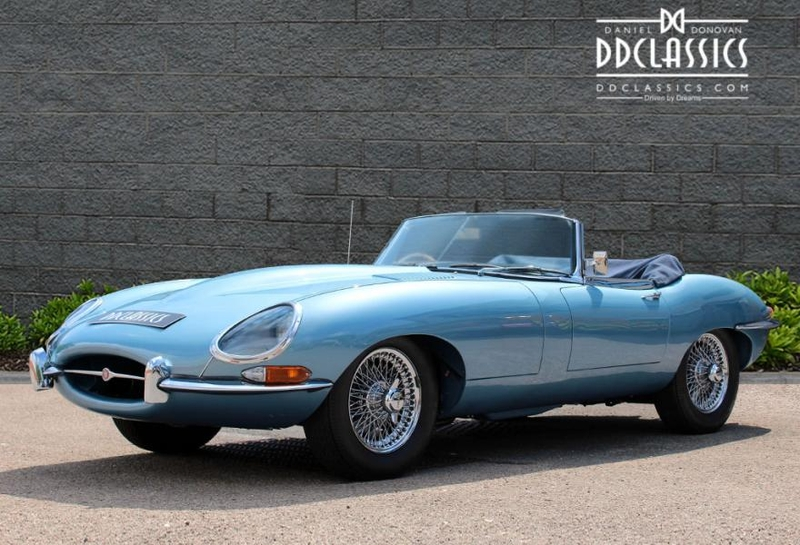 Jaguar E Type XKE 1966