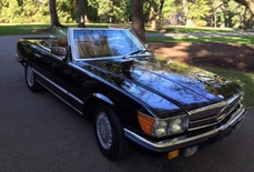 Mercedes-Benz 560SL w107 1984