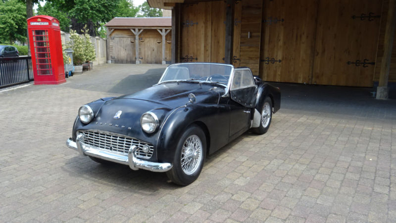 1962 Triumph Tr3 Is Listed For Sale On Classicdigest In