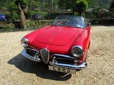 Alfa Romeo Giulietta Spider 1961