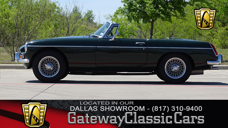 1968 MG MGB is listed Sold on ClassicDigest in DFW Airport