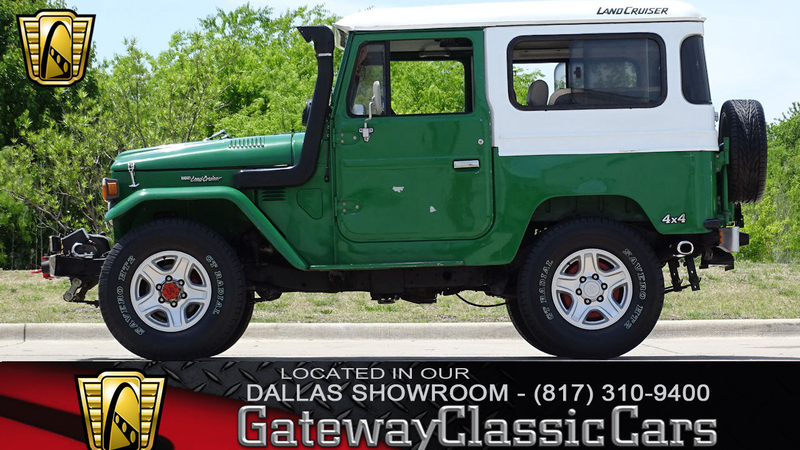 1984 Toyota Land Cruiser Is Listed Sold On Classicdigest In Dfw Airport By Gateway Classic Cars For Not Priced Classicdigest Com