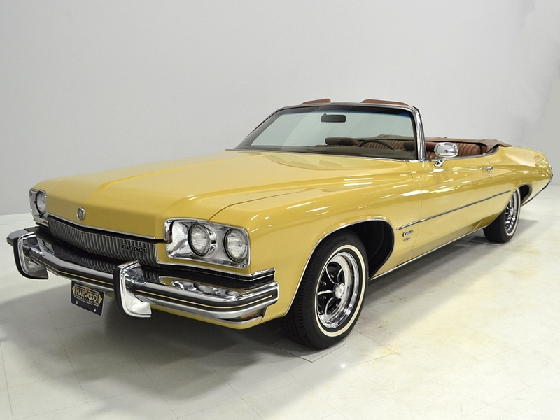 1973 Buick Centurion is listed Sold on ClassicDigest in