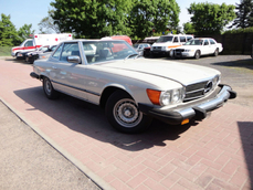 Mercedes-Benz 380SL w107 1980