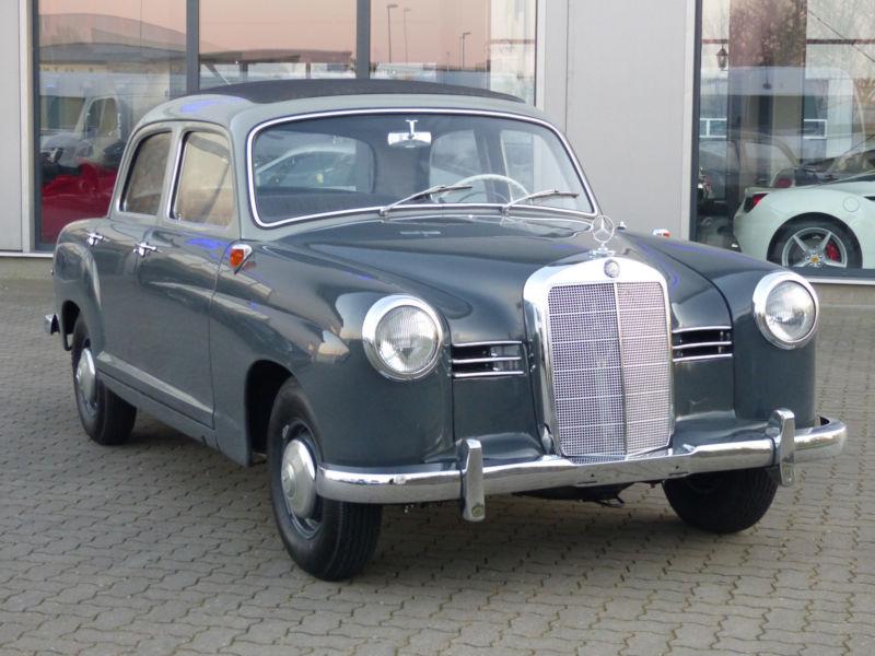 1957 mercedes benz 180 ponton is listed for sale on classicdigest in lise meitner str 2de 25746. Black Bedroom Furniture Sets. Home Design Ideas